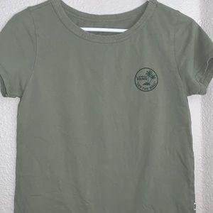 Green vans T-shirt